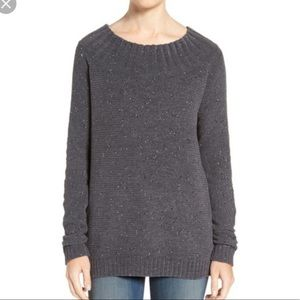 Hinge • Marilyn speckled grey sweater